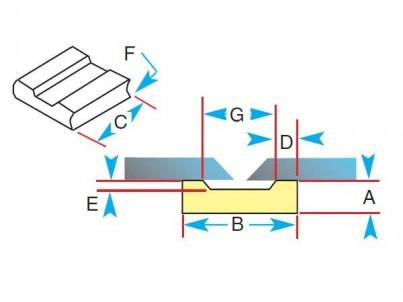 Keramická podložka 1G43-R