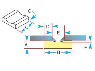 Keramická podložka 1G42-R