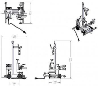 Vozík MOGGY®  - pro průběžné svary a stehování č.2