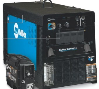 Svařovací centrála Big Blue 350 Pipe Pro